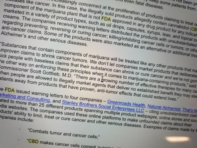 FDA Quotes